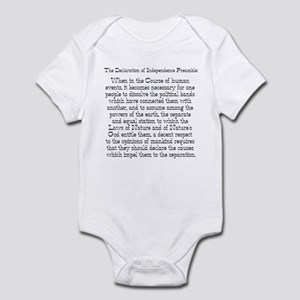Preamble to Declaration  Infant Bodysuit