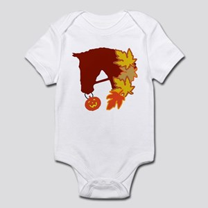 Horse & Pumpkin Infant Bodysuit