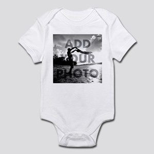 Add Your Photo Baby Light Body Suit