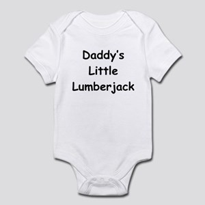 Daddy's Little Lumberjack Infant Bodysuit