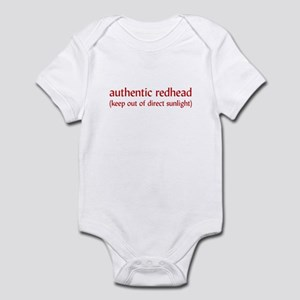 Real Redheads Infant Bodysuit