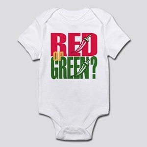 Red or Green? Infant Bodysuit