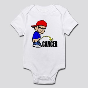Piss On Cancer Infant Bodysuit