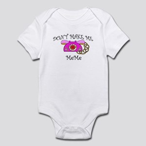 Call Meme with Pink Phone Infant Bodysuit