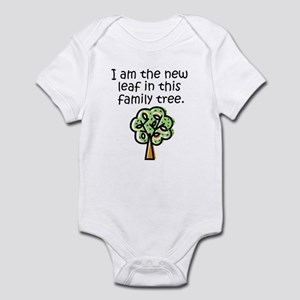 New leaf in family tree - Infant Bodysuit