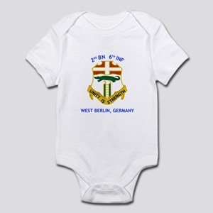 2nd BN 6th INF Gear Infant Bodysuit