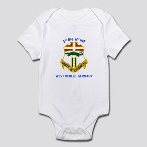 3rd BN 6th INF Infant Bodysuit