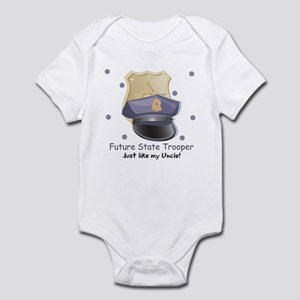 Future State Trooper Like Uncle Infant Bodysuit