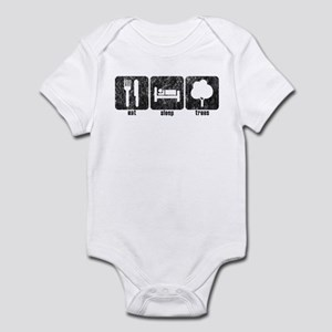 Eat Sleep Trees (deciduous) Infant Bodysuit