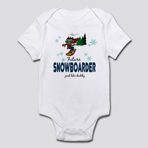 Future Snowboarder Like Daddy Baby Infant Bodysuit