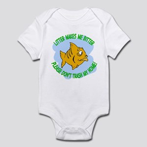 Bitter Litter Fish Infant Bodysuit