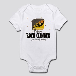 Future Rock Climber like Mommy Infant Bodysuit