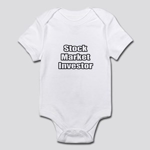 """Stock Market Investor"" Infant Bodysuit"