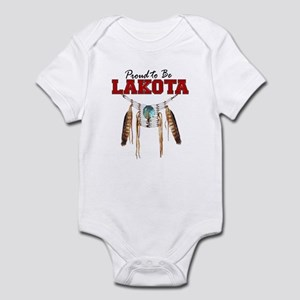 Proud to be Lakota Infant Bodysuit