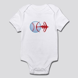 Deep Space Niners Logo Infant Body Suit