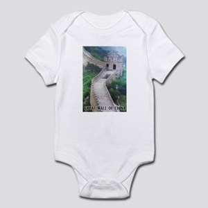 Great Wall Of China Infant Bodysuit