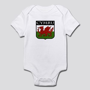 Wales Coat of Arms Infant Bodysuit