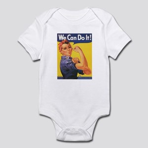 WWII POSTER WE CAN DO IT! Infant Creeper