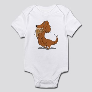 3b102460e Long Haired Dachshund Baby Clothes & Accessories - CafePress