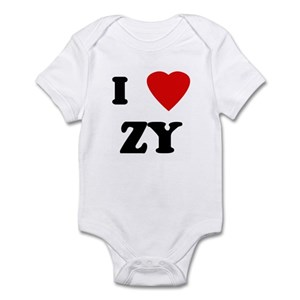a1538f910 I Love Zy Baby Clothes & Accessories - CafePress