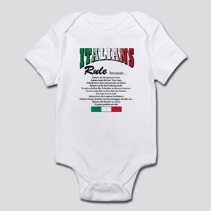 Italians Rules Infant Bodysuit