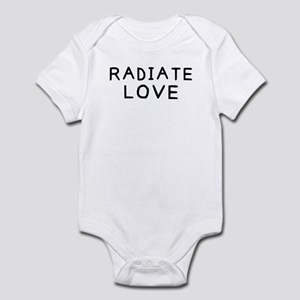 Radiate Love Baby Light Bodysuit