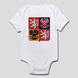 Czech Republic Coat of Arms Infant Creeper