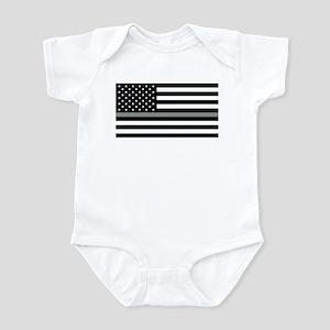 942de56f Correctional Officer Flag Shirt Baby Bodysuit. $22.99 · U.S. Flag: Black  Flag & The Thin G Infant Bodysuit