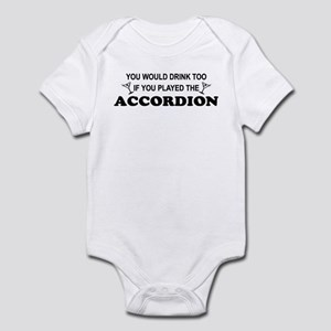 009411435 Funny Accordion Baby Clothes & Accessories - CafePress
