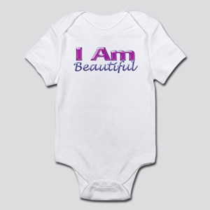 I Am Beautiful Infant Bodysuit