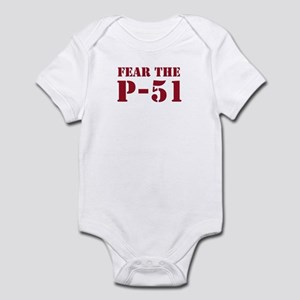 Fear the P-51 Infant Creeper