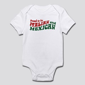 cb5184b4f Half Italian Mexican Baby Clothes & Accessories - CafePress