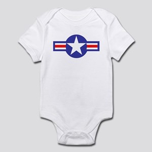 Air Force Star and Bars Infant Creeper