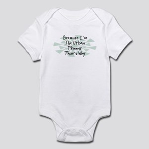 Because Urban Planner Infant Bodysuit