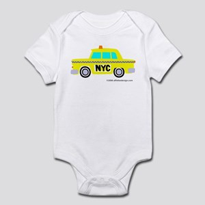 Wee New York Cab! Infant Bodysuit