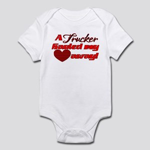 92289173 Truck Driver Valentine Baby Clothes & Accessories - CafePress