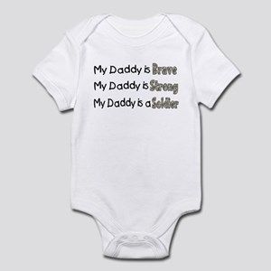 6c11b995 My Daddy Is A Soldier Baby Clothes & Accessories - CafePress