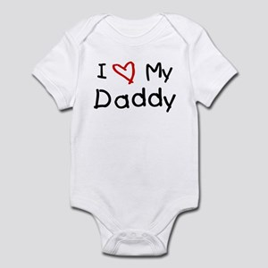 0fe56083c I Love My Daddy Baby Clothes & Accessories - CafePress