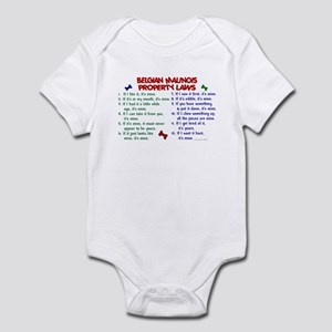 Belgian Malinois Property Laws 2 Infant Bodysuit