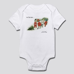 CHILD'S FIRST CHRISTMAS TREE....  Infant Bodysuit