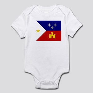 Flag of Acadiana Louisiana Body Suit