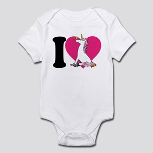 I Love Unicorns Infant Bodysuit
