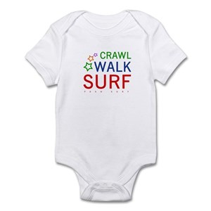 4d5bba9004 Crawl, Walk, Surf Onesie