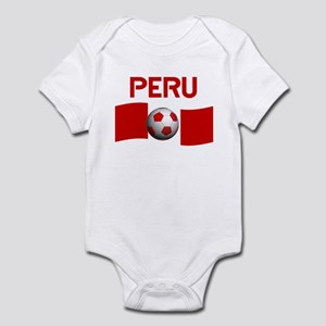 8cd6ab3dee9 Peru Soccer Baby Clothes   Accessories - CafePress