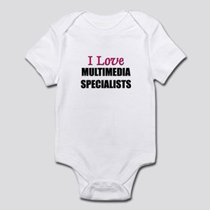I Love MULTIMEDIA SPECIALISTS Infant Bodysuit