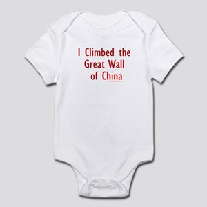 I Climbed Great Wall of China - Infant Creeper