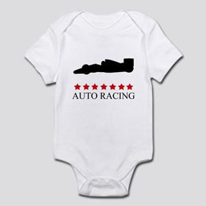 Auto Racing (red stars) Infant Bodysuit