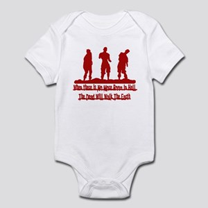 No More Room in Hell Infant Bodysuit