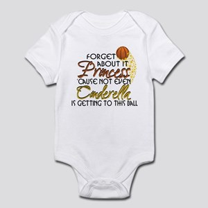 25b4af8b1582 Girls Basketball Baby Clothes   Accessories - CafePress
