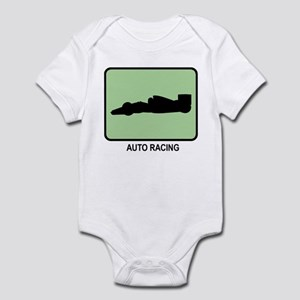 Auto Racing (GREEN) Infant Bodysuit